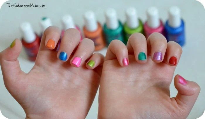 Piggy Paint Safe Non-Toxic Kids Nail Polish