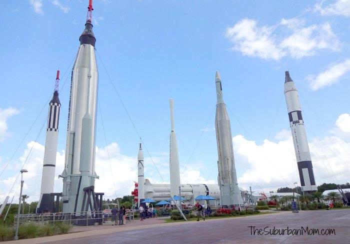 Kennedy Space Center Rocket Garden