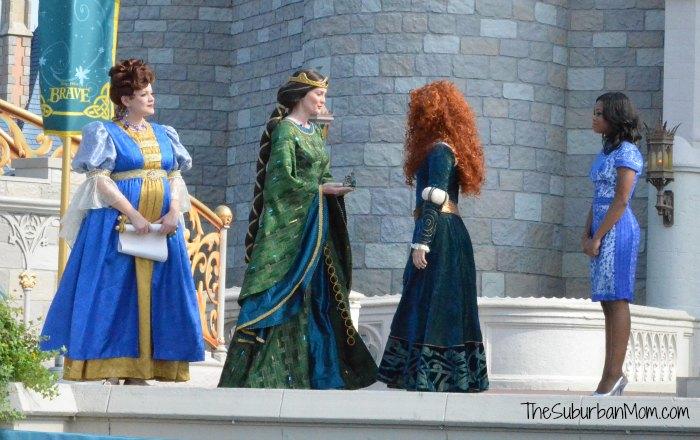 Princess Merida Queen Elinor Disney