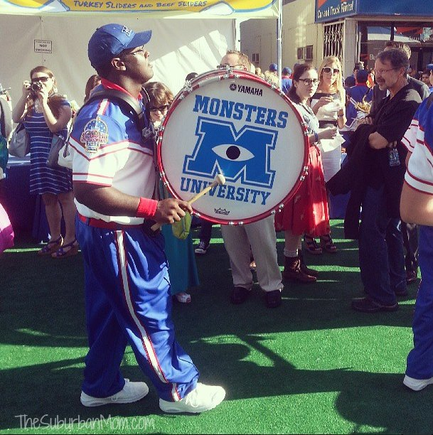 Monsters University Premiere Marching Band