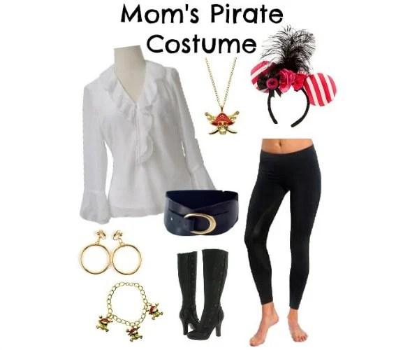 DIY Women's Pirate Costume Disney Cruise