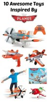 10 Toys Inspired By Disney Planes