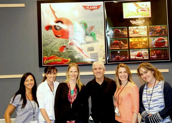 Disney Planes Bloggers with Carlos In late 2008, Alazraqui