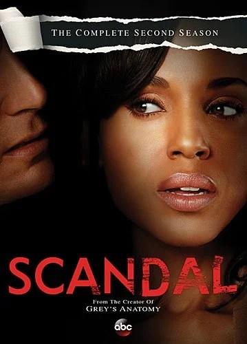 Scandal Second Season DVD