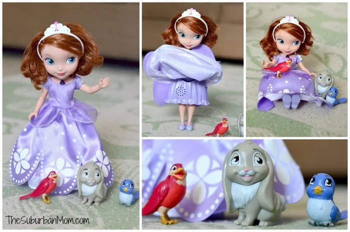 Disney Junior Sofia The First Talking Doll Animal Friends