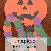 Pumpkin Halloween Countdown Craft + Template