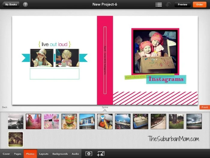 Shutterfly App Photobook How To