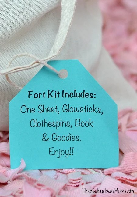 DIY Fort Kit Contents