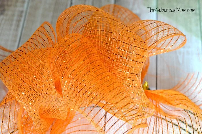 Deco Mesh Wreath How To