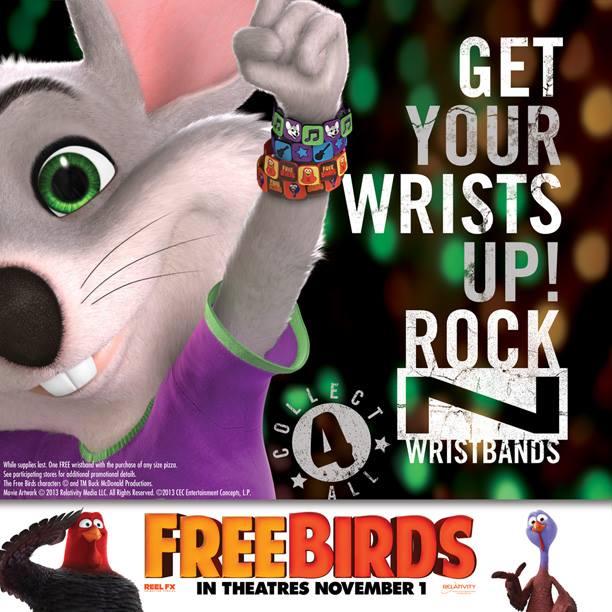 Free Birds Chuck E Cheese