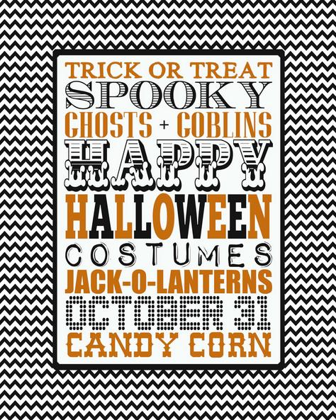 Halloween Printable Art