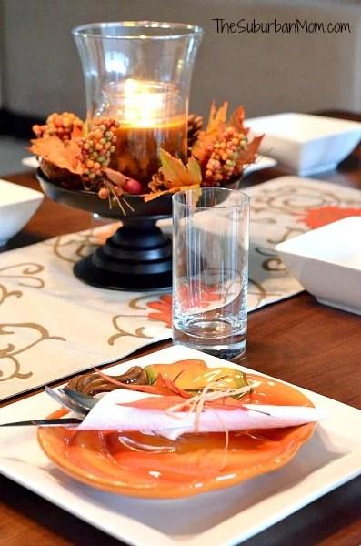 Harvest Dinner Table Setting