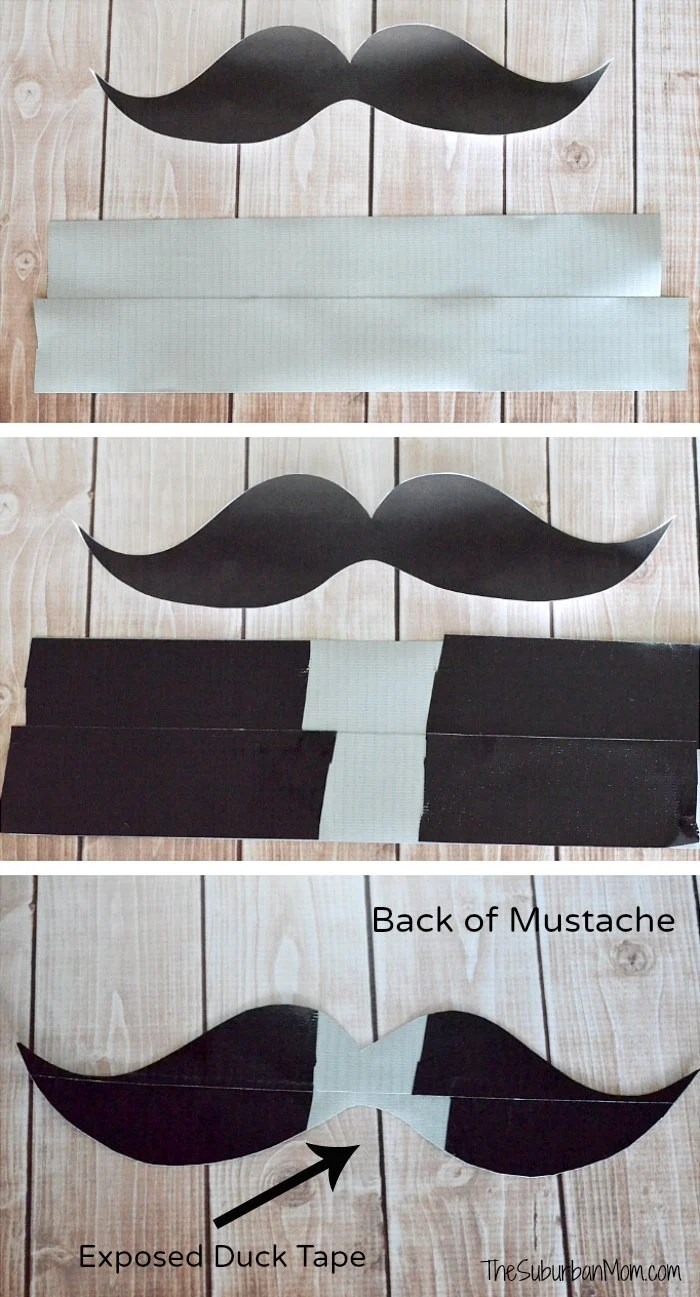 How To Make Duck Tape Mustache