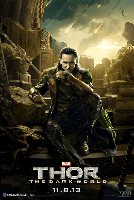 Thor Team Loki Poster