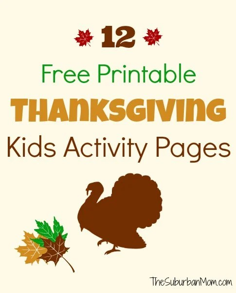 image relating to Thanksgiving Closed Sign Printable identify 30 Absolutely free Thanksgiving Printables - TheSuburbanMom