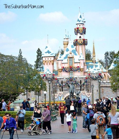 Disneyland Sleeping Beauty Castle Christmas