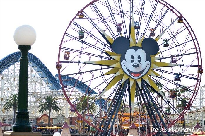 Faris Wheel DCA Mickey Mouse Disneyland