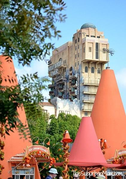 Hollywood Tower DCA Disneyland