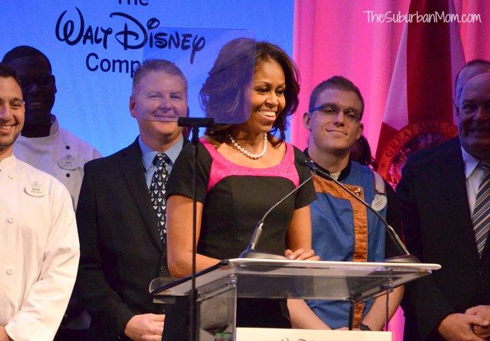Michelle Obama Walt Disney