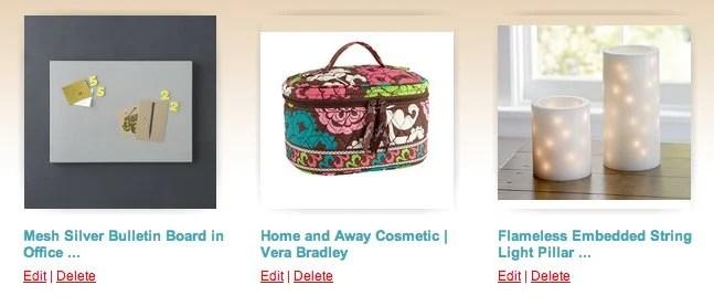 Pick UR Gift Shopping List