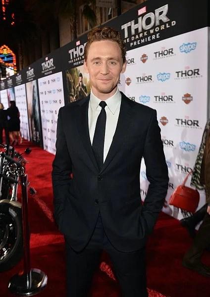 Tom Hiddleston Loki Thor Premiere