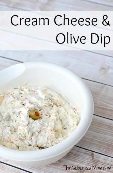 Cream Cheese Olive Dip Recipe
