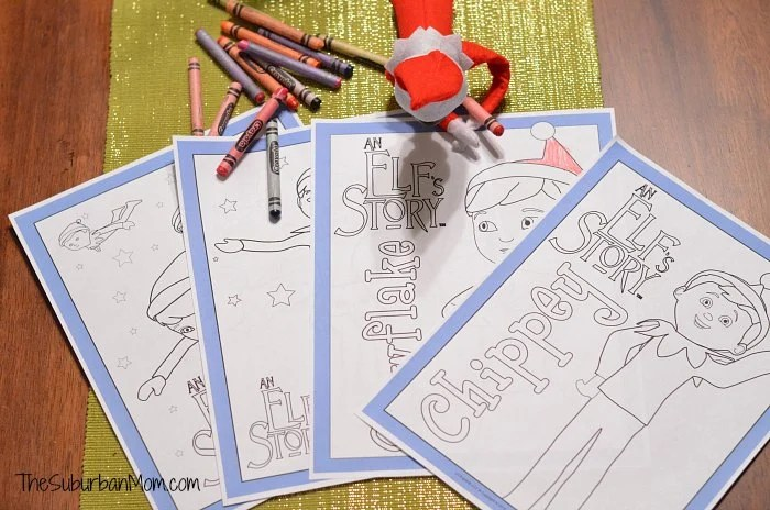 elf on the shelf free printable coloring pages thesuburbanmom
