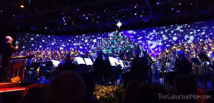 Epcot Disney Candlelight Processional