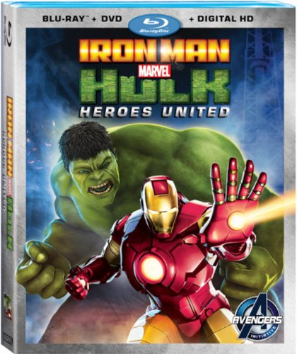 Iron Man Hulk Heroes United