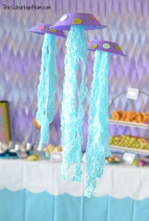 DIY Jellyfish Party Decoration Craft