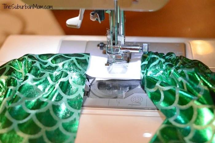 Sew Little Mermaid Tail