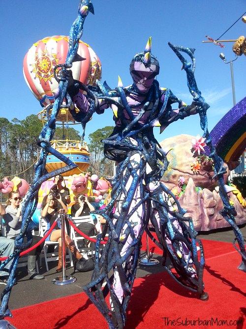 Stilt Walker Sleeping Beauty Festival Fantasy Parade