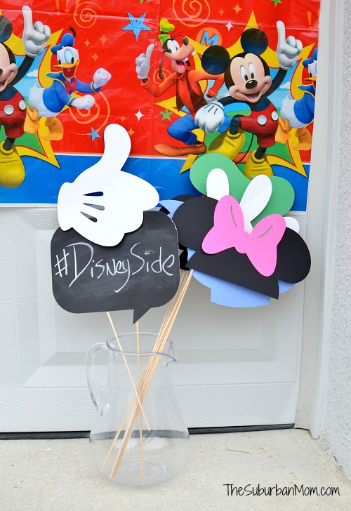 DIY Photobooth Props Disney
