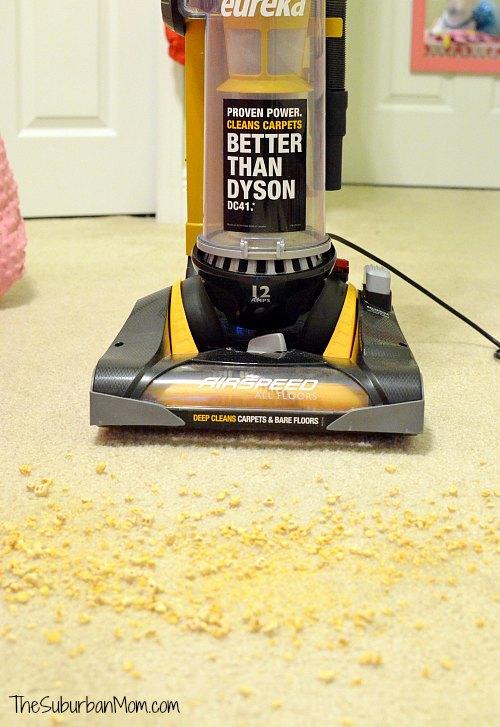 Eureka AirSpeed All Floors Vacuum Challenge