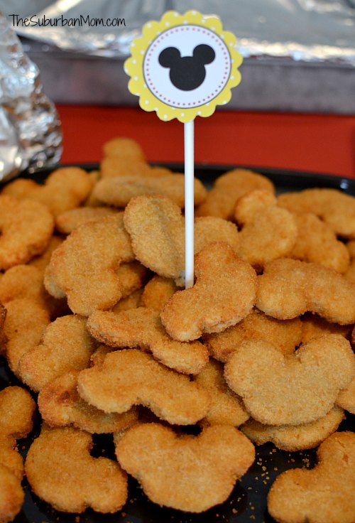Mickey Mouse Chicken Nuggets