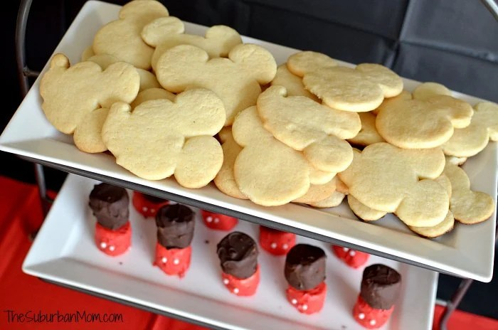 Mickey Mouse Cookies Deserts