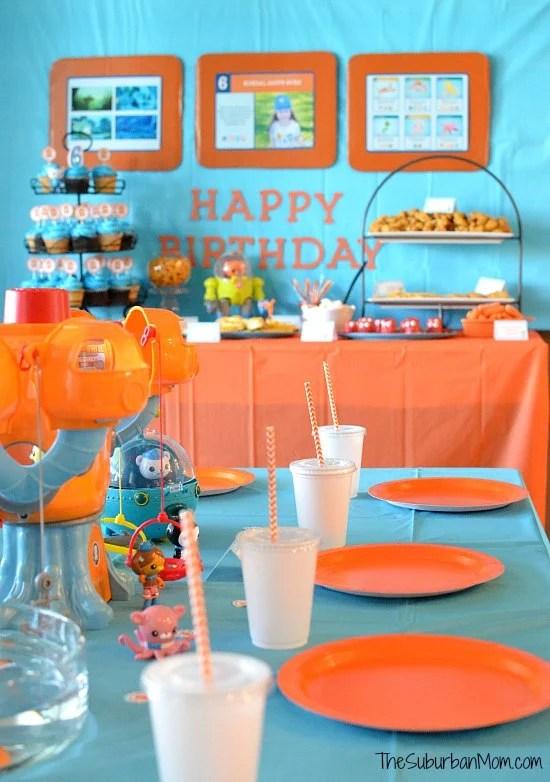 Octonauts Birthday Party Ideas
