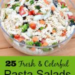 25 Free Colorful Pasta Salads
