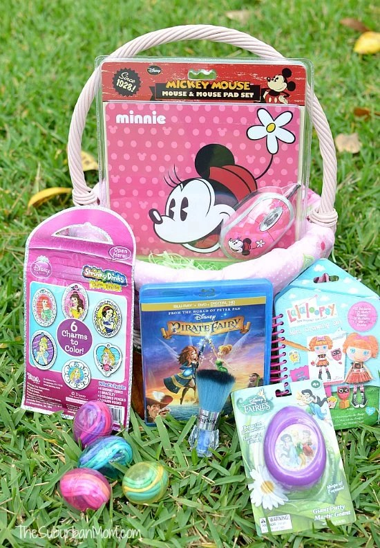 Easter Basket Pirate Fairy Disney Minnie Mouse