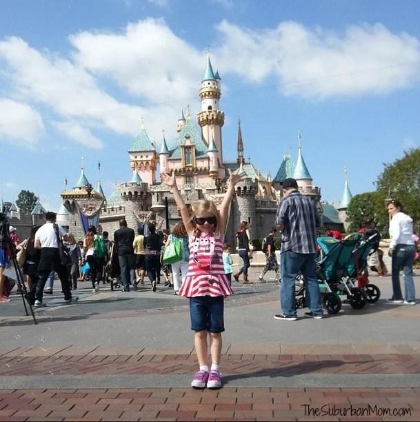 First Visit To Disneyland