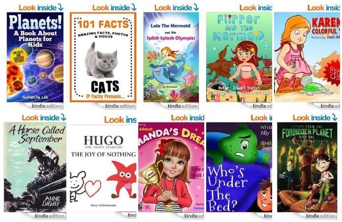 Free Kids Kindle Books April 24
