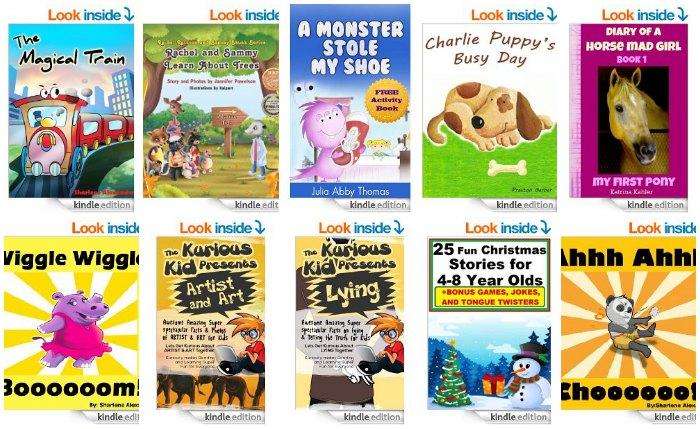 Free Kids Kindle Books April 25