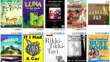 10 Free Children's Kindle eBooks April 16, 2014 - TheSuburbanMom
