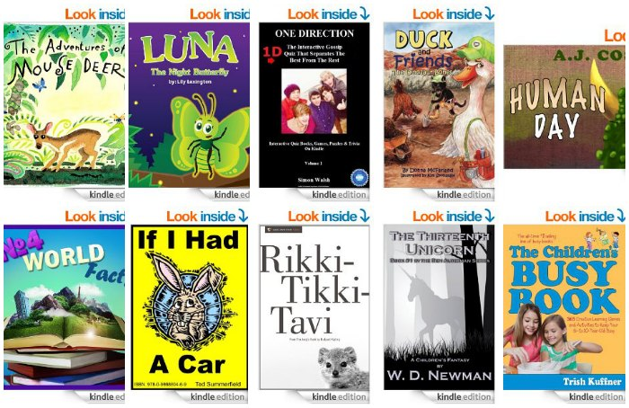 Free Kids Kindle Books Aprl 21