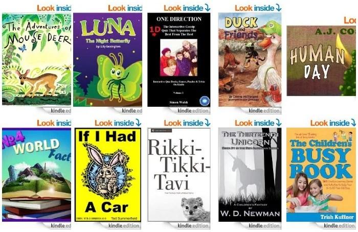 Free Kids Kindle Books Aprl 21