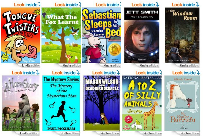 10 Free Children's Kindle eBooks April 14, 2014 - TheSuburbanMom