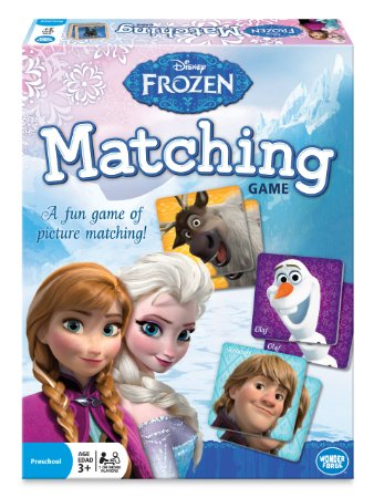 Frozen Matching Game Disney