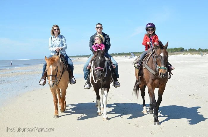 Gulf County Horseback Ride Beach