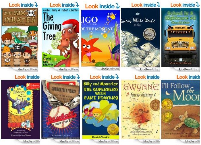 Kindle Books Kids April