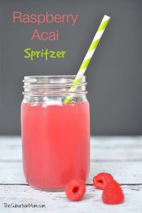 Raspberry Acai Spritzer